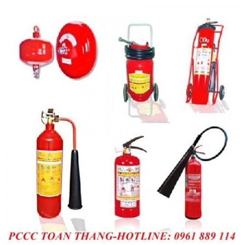 Bình chữa cháy có tem kiểm định của BCA tại thái nguyên.
